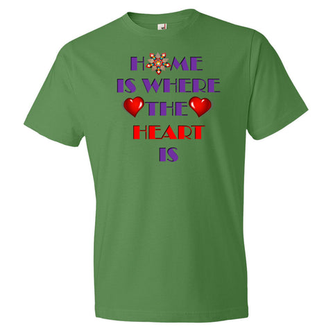 01-01-02-02 Shirt, Classic Short Sleeve, Words to Live By-Home-Heart2