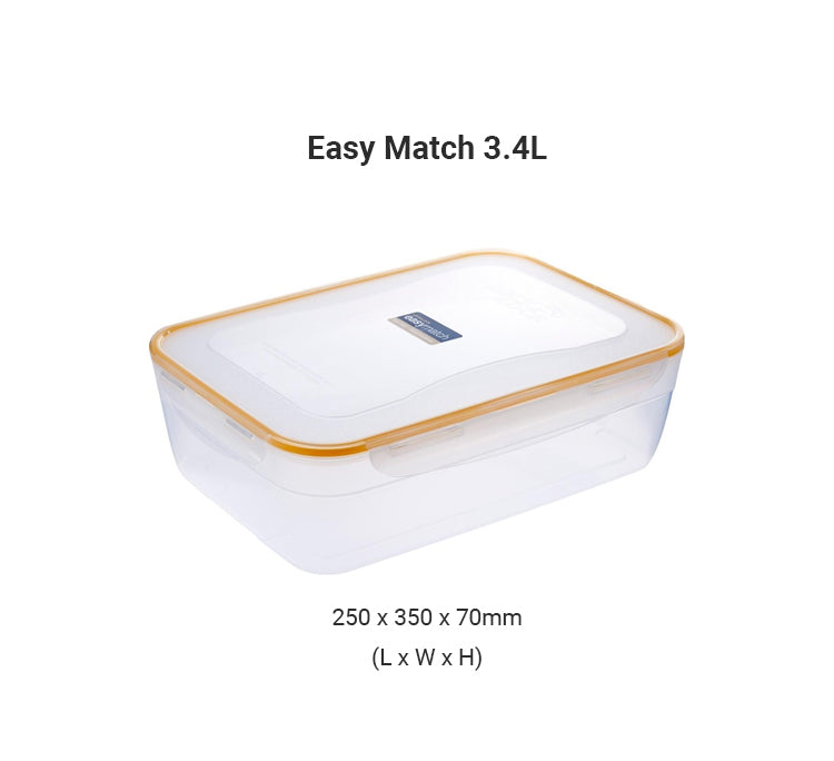 LocknLock Easy Match Airtight Food Container