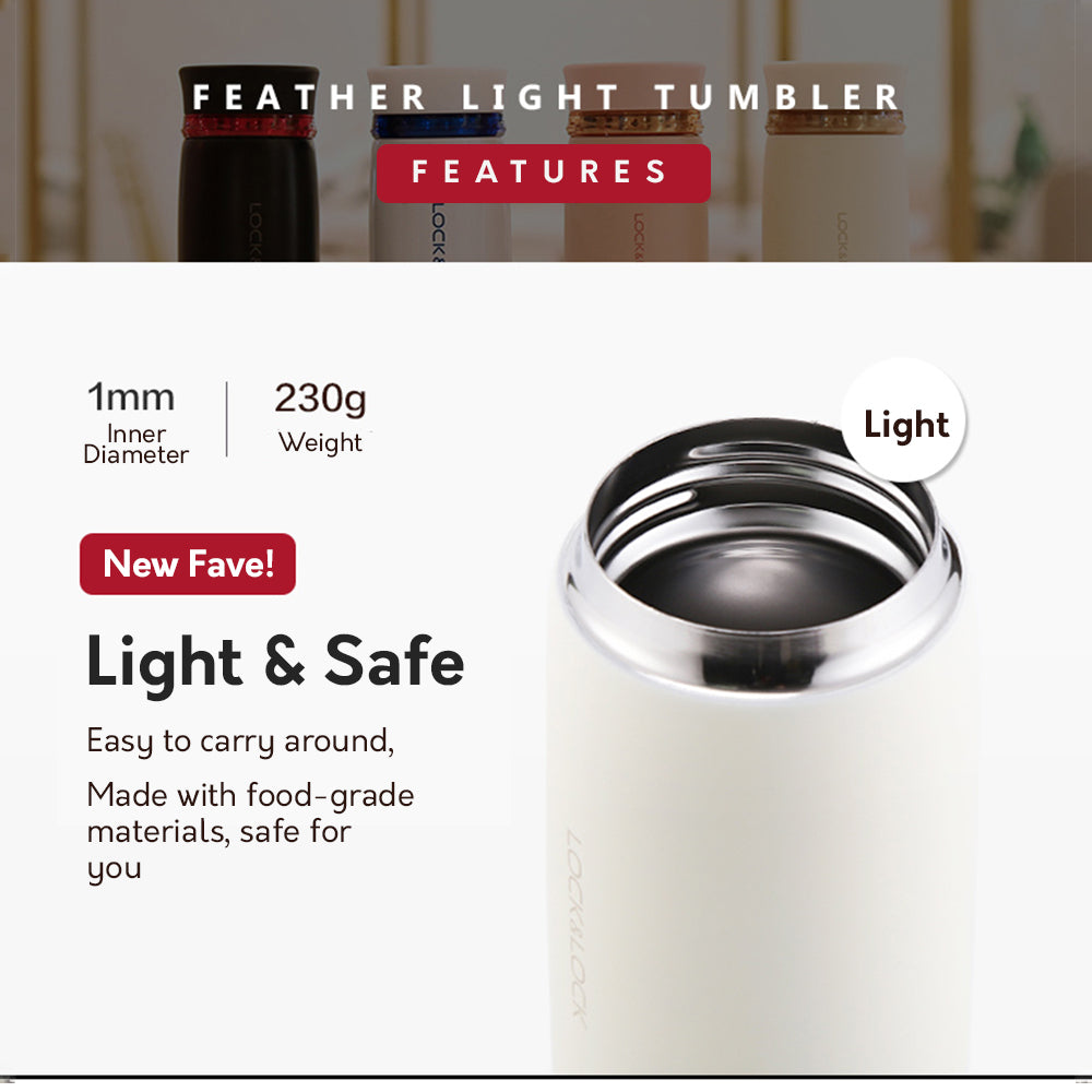 LocknLock Feather Light Vacuum Tumbler
