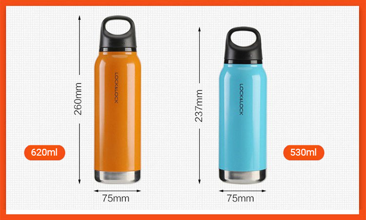 The Loop Tumbler comes in 2 different sizes and 4 different colors.
