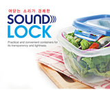 Lock & Lock Sound Lock Stackable Food Storage