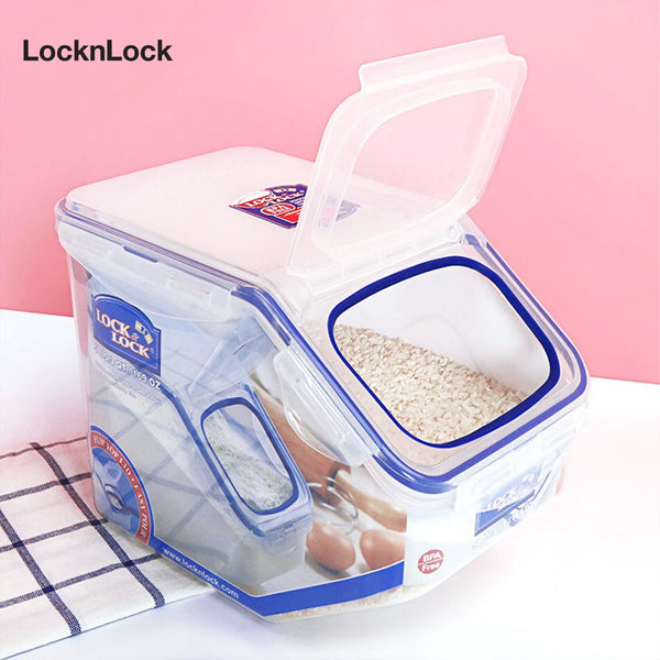 LocknLock Flip-Top Kitchen Caddy 5L HPL700