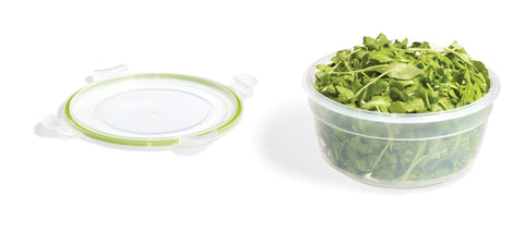 Easy Match Round Food Container 1.4L (Green Silicone)