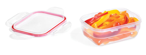 Easy Match Rectangle Style 370mL (Red Silicon)