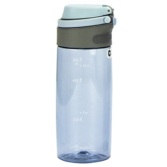 LocknLock One-Touch Sports Tritan Shock-Resistant Water Bottle 550ml ABF762
