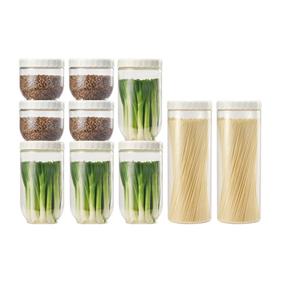 Interlock Kitchen Canister 10pc. Set