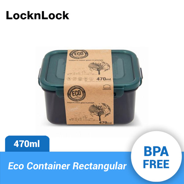 Lock & Lock Eco Container Rectangular 470ml HPL807RCL