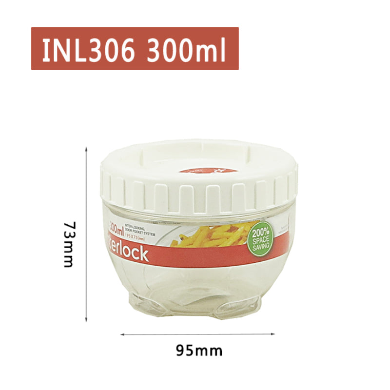 Lock and Lock Inter Lock Food Container 300ml INL306