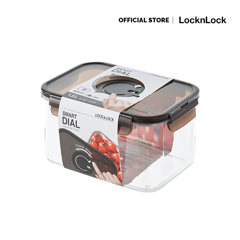 Lock and Lock Smart Dial Container 1.5L LBF405N