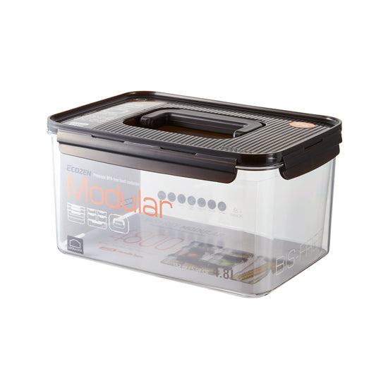 LocknLock Bisfree Modular Rectangular Food Container 4.8L with Handle LBF408H