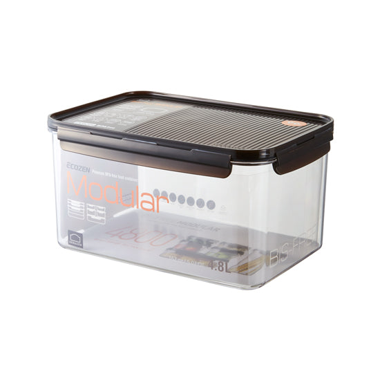 Lock and Lock Bisfree Modular Rectangular Container 4.8 Liters LBF408