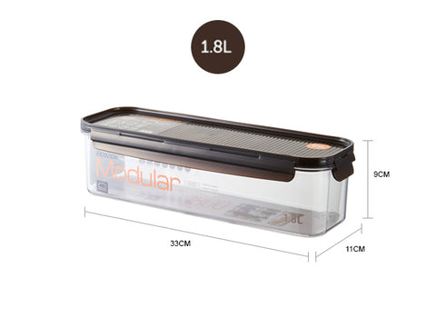 Lock&Lock LBF410 Bisfree Modular Rectangular Container 1.8 L