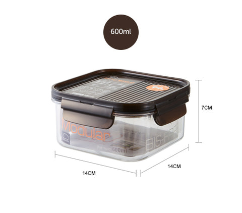 Lock&Lock Bisfree Modular Square Container 600ML