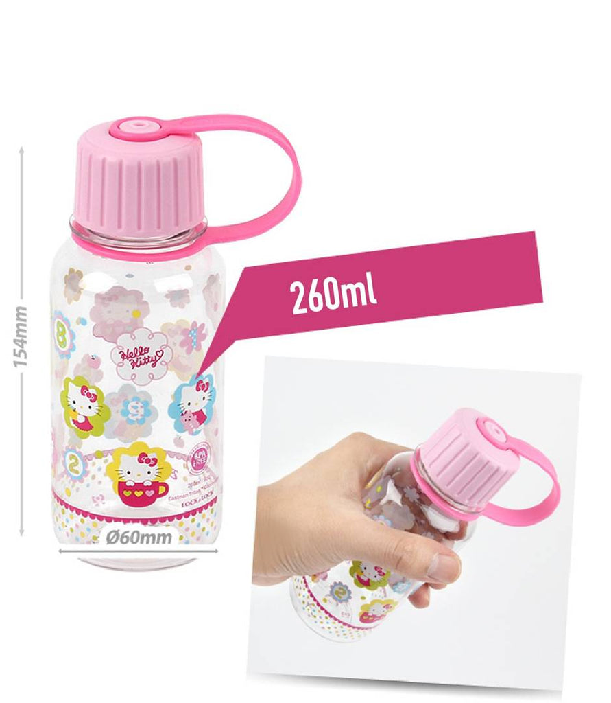 Lock & Lock LKT640F Hello Kitty Waterbottle 260ML