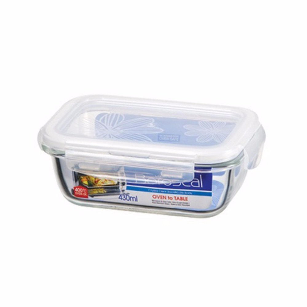LocknLock Oven Safe Glass Food Container 430ml