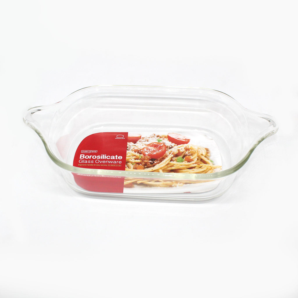 Lock & Lock LLG582 Glass Ovenware Chicken Dish