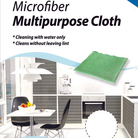Microfiber Multipurpose Cloth Green