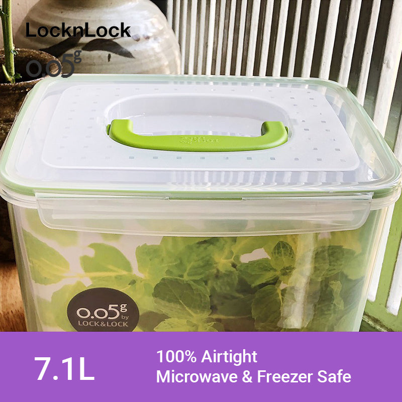 LocknLock 0.05g Airtight Food Storage Container Rectangular 7.1L ZZF151N