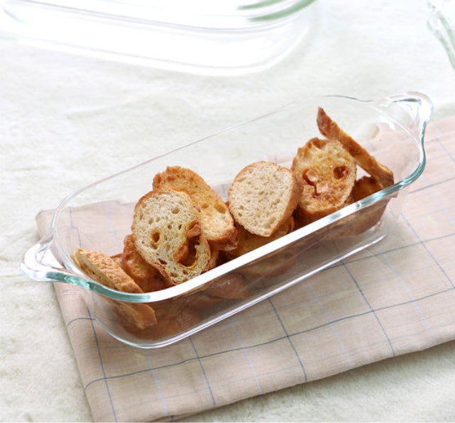 Lock & Lock LLG581 Glass Ovenware Pound Cake 1.37 Liters