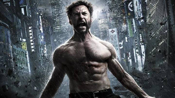 Hugh Jackman as Wolverine has Hunter androstenone pheromone energy on his paleo diet