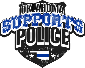 Oklahoma Police Support Shirt