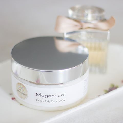 Magnesium Cream - Hand & Body Moisturiser - Nature's Finest By K