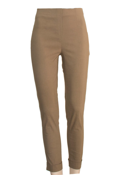 Brown Ficelle Folded Trouser
