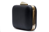 Oversized Matt Saffiano Pod Clutch