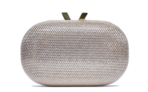 Crystal Oval Pod Clutch