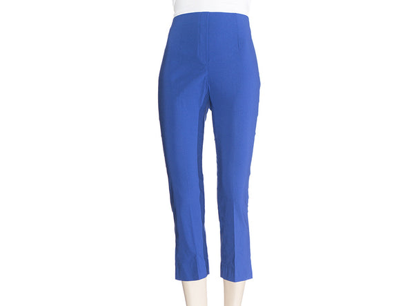 Royal Blue Ficelle Capri Pants
