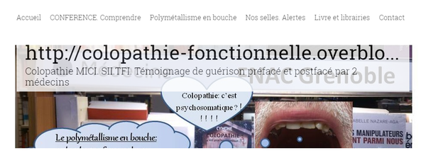 Proibs Colon Irritable sur un blog sur le syndrome du côlon irritable