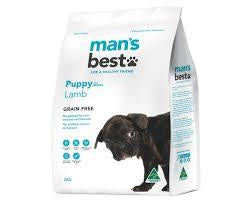 Man's Best Lamb Puppy 2kg