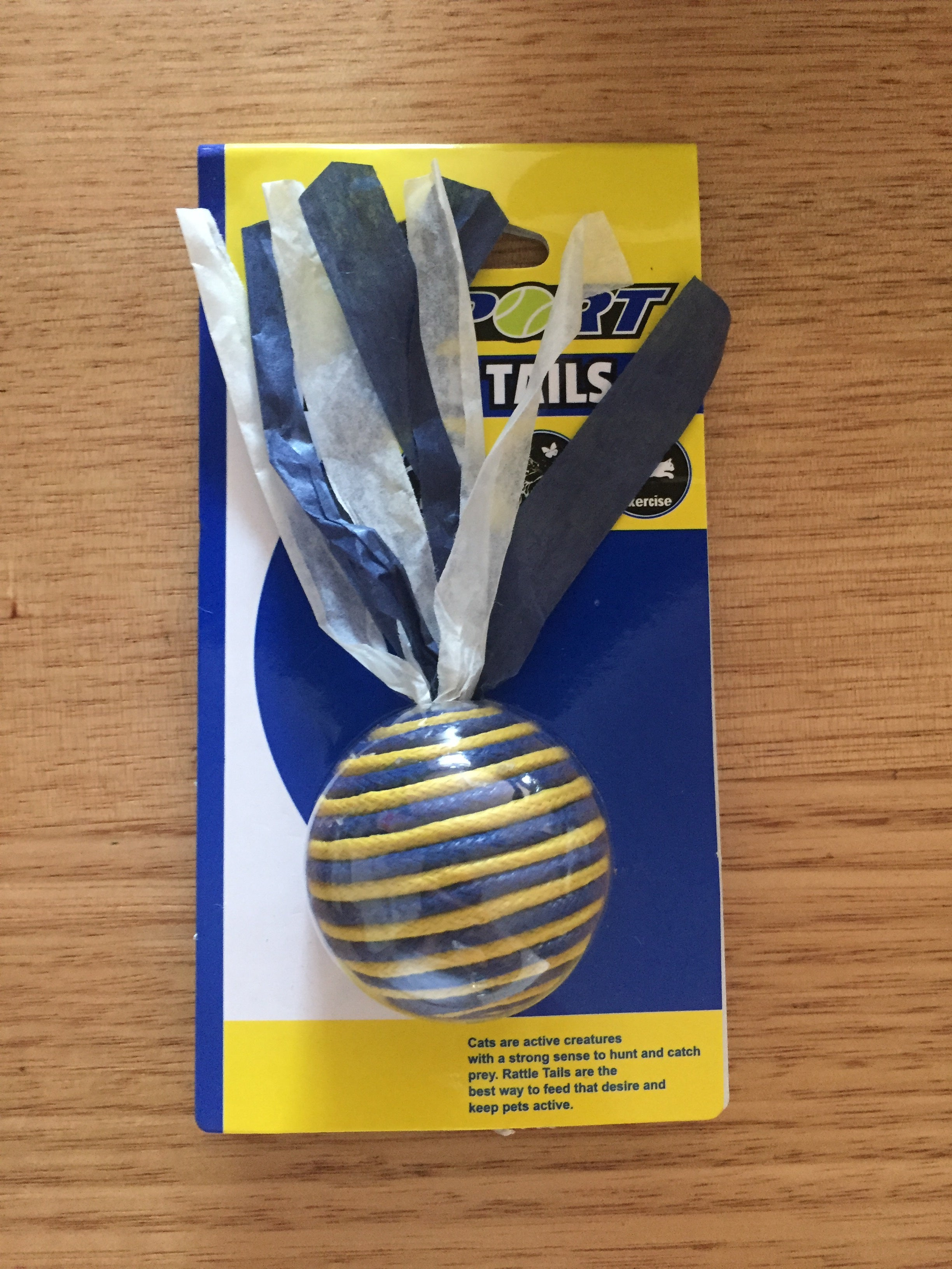 Kitty Rattle Tails Cat Toy