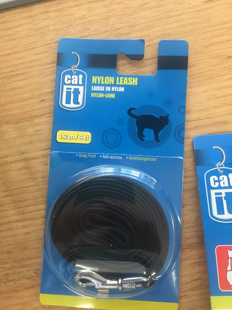 Catit Nylon Cat Adjustable Harness Medium Black