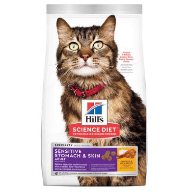 Hills Feline Adult Sensitive Stomach & Skin 1.58kg
