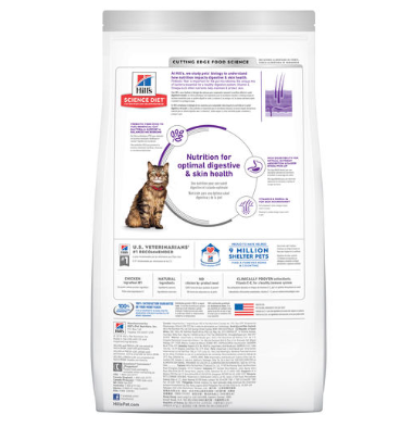 Hills Feline Adult Sensitive Stomach & Skin 3.17kg