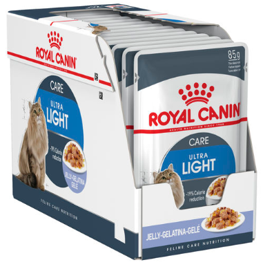 Royal Canin Ultra Light in Jelly BOX