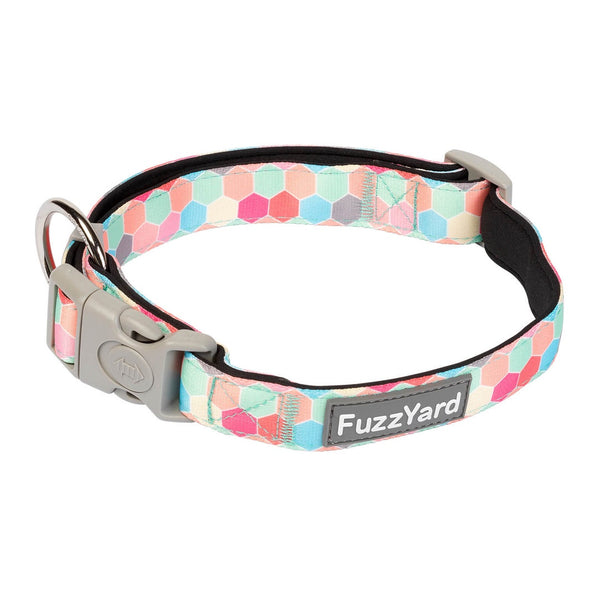 Fuzzyard The Hive Collar Medium