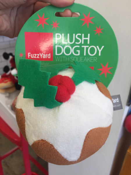 Xmas Plum Pudding  Dog Toy