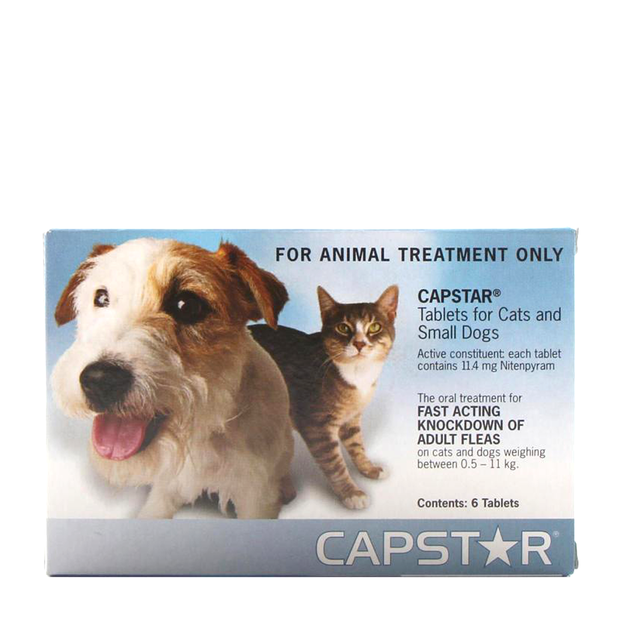 Capstar Tablets Small Dogs & Cats