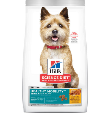 Hill's Science Diet Adult Healthy Mobility Small Bites Dry Dog Food 1.81kg