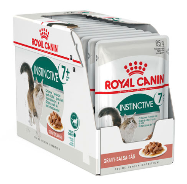 Royal Canin Instinctive +7 Gravy BOX