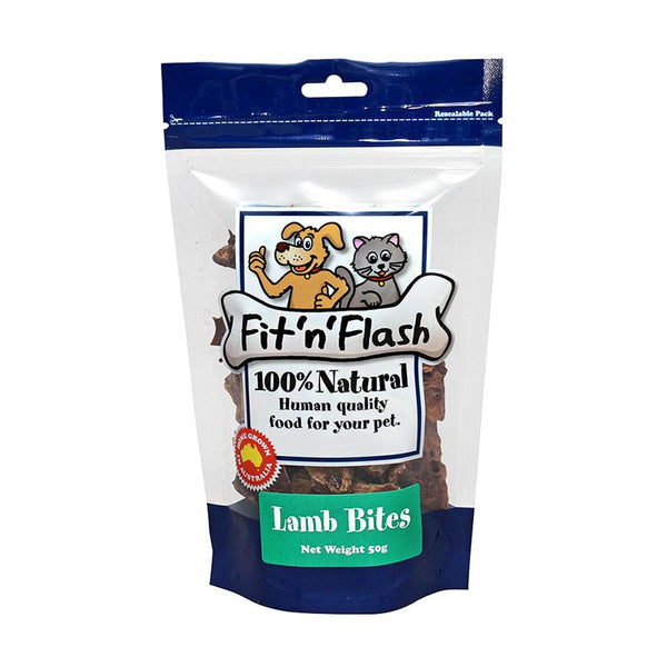 Fit 'n' Flash Lamb Bites 50g