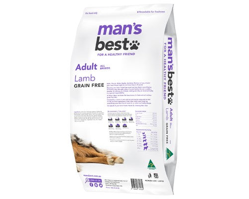 Man's Best Lamb Adult 12kg