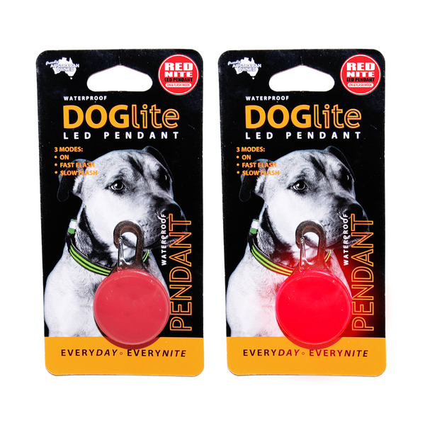 Doglite LED Pendant Red Nite
