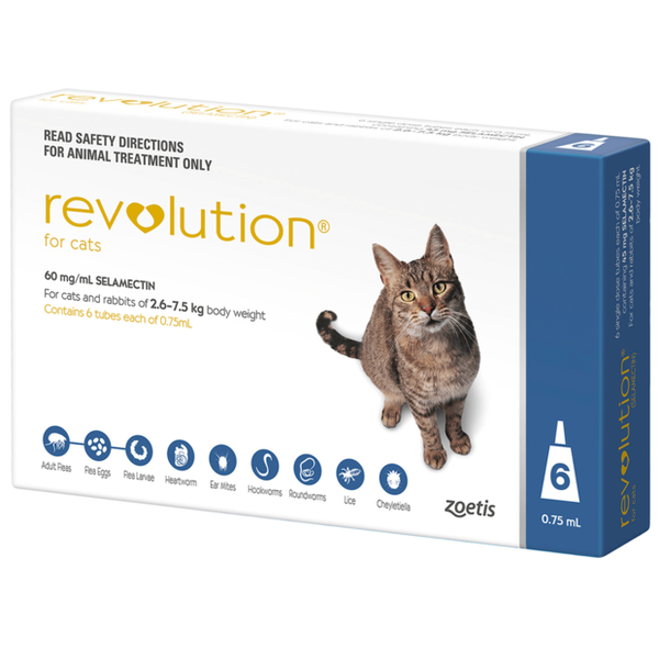 Revolution Cat  2.6-7.5kg 6's