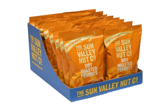 Dry Roasted Peanuts – Sharing Bags 18 x 180g SRP case