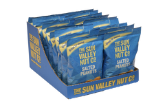 Salted Peanuts Sharing Bags – 18 x 180g bags SRP Case