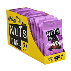NUTS FOR Simply Dip'd Almonds in Dark Chocolate - 15 x 30g SRP