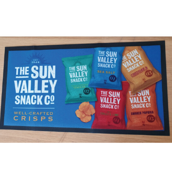 Sun Valley Crisp Bar Mat Runner